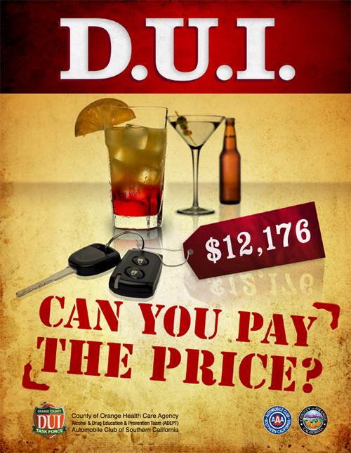 OC DUI Task Force poster